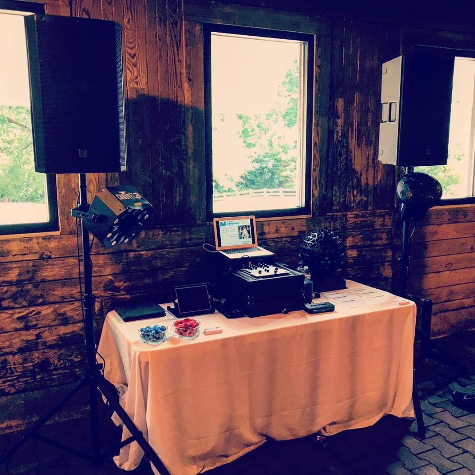 Wakefield Barn: Making Memories DJ Service