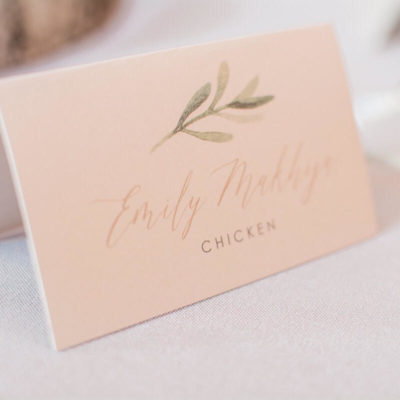 Place Cards, Seating Charts, Escort Cards – Where, What, When