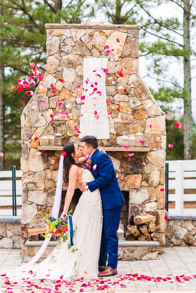 Heart of NC Weddings Styled Shoot at The Historic Wakefield Barn