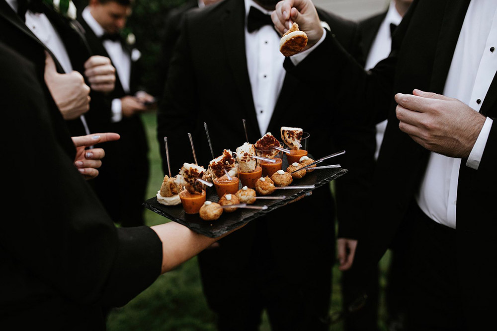 Wedding Catering at The Wakefield Barn in Wake Forest NC