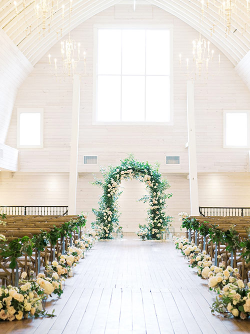 Amazing scenery for your dream wedding