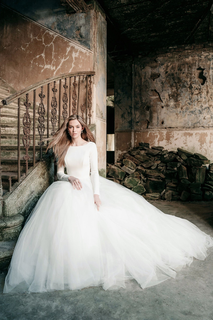 Winter Wedding Dresses We Love Style MJ614 - Allure Bridals