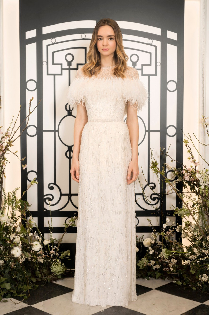 Winter Wedding Dresses We Love: Bianca & Jagger - Jenny Packham
