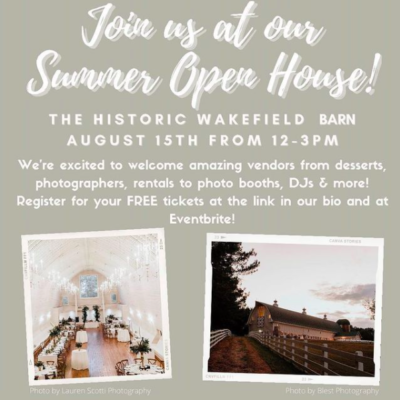 Join Us at Our Summer Open House!